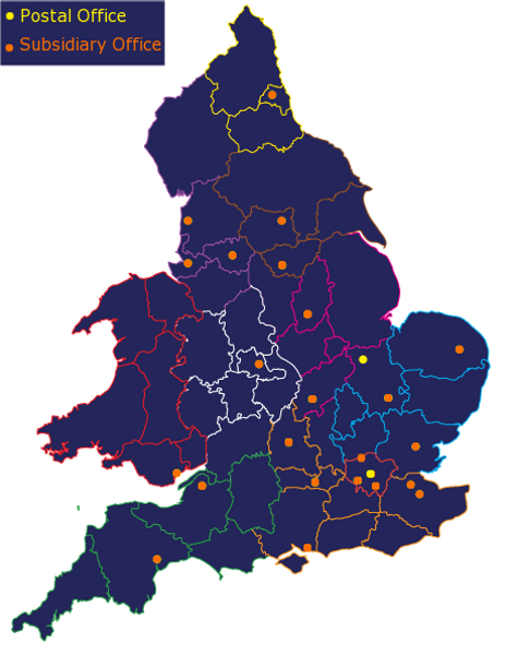 Debt Collection UK Map